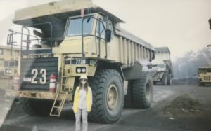 Female Mining Student